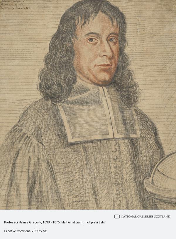 David Stewart Erskine, 11th Earl of Buchan, Professor James Gregory, 1638 - 1675. Mathematician