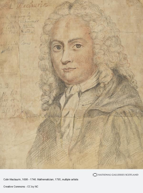 James Ferguson, Colin Maclaurin, 1698 - 1746. Mathematician (about 1795)