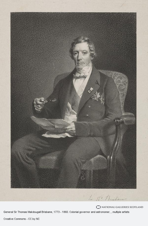 da0d7430 General Sir Thomas Makdougall Brisbane, 1773 - 1860. Colonial governor and  astronomer