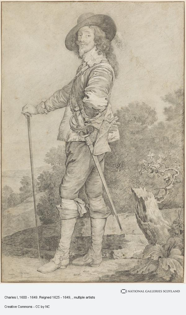 Sir Robert Strange, Charles I, 1600 - 1649. Reigned 1625 - 1649