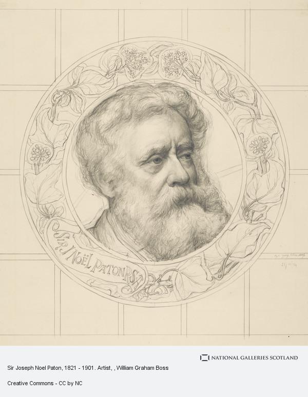 W. Graham Boss, Sir Joseph Noel Paton, 1821 - 1901. Artist