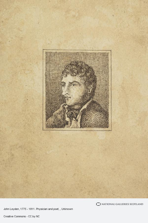 Unknown, John Leyden, 1775 - 1811. Physician and poet