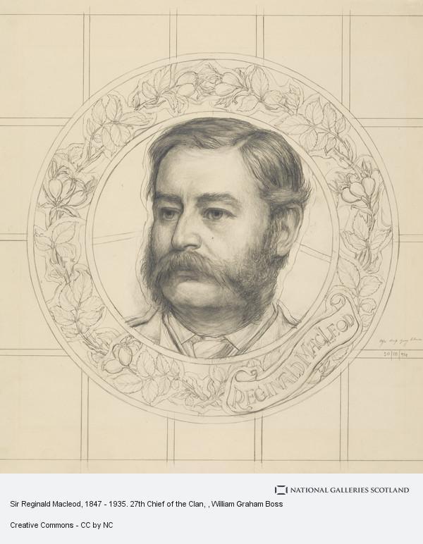 W. Graham Boss, Sir Reginald Macleod, 1847 - 1935. 27th Chief of the Clan