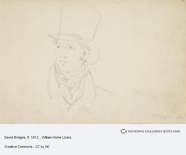 William Home Lizars, David Bridges, fl. 1812