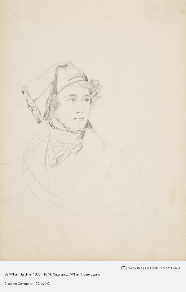 William Home Lizars, Sir William Jardine, 1800 - 1874. Naturalist