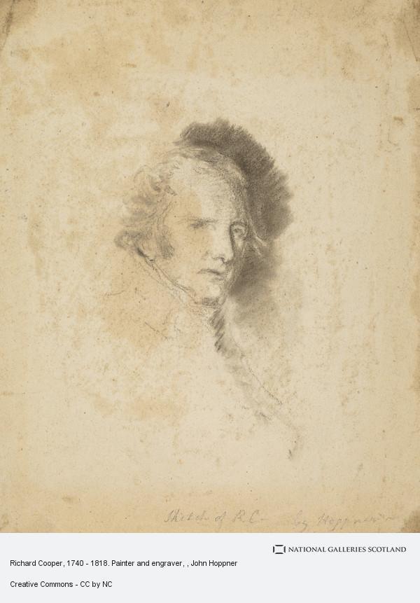 John Hoppner, Richard Cooper, 1740 - 1818. Painter and engraver