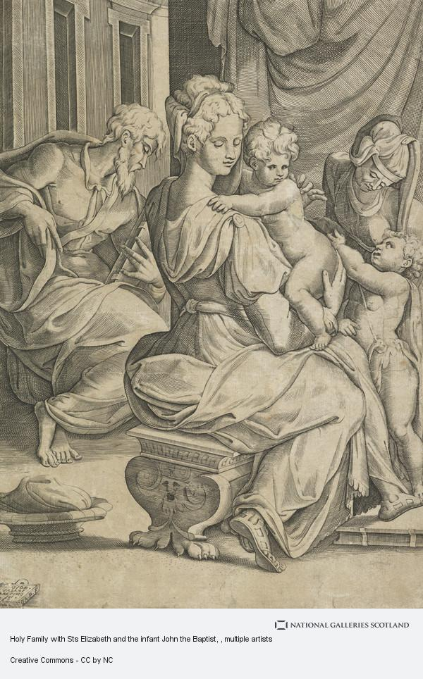 Giorgio Vasari, Holy Family with Sts Elizabeth and the infant John the Baptist