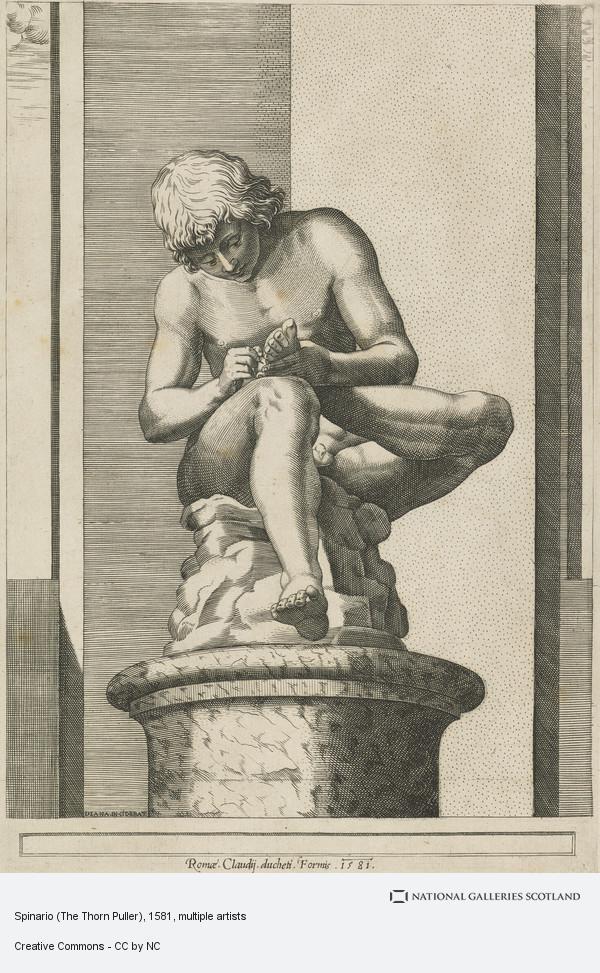 Diana Scultori, Spinario (The Thorn Puller)