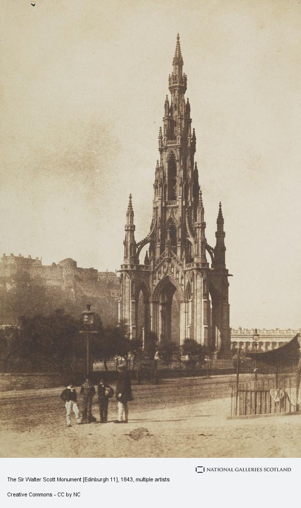 David Octavius Hill, The Sir Walter Scott Monument [Edinburgh 11]