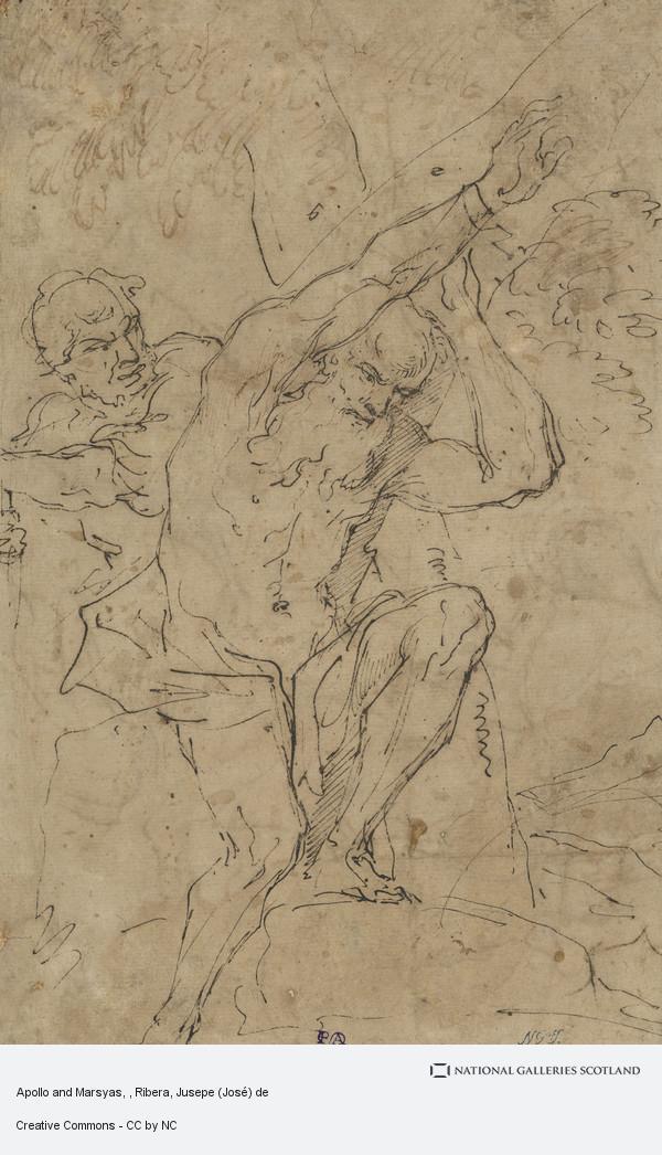 Ribera, Jusepe (José) de, Apollo and Marsyas