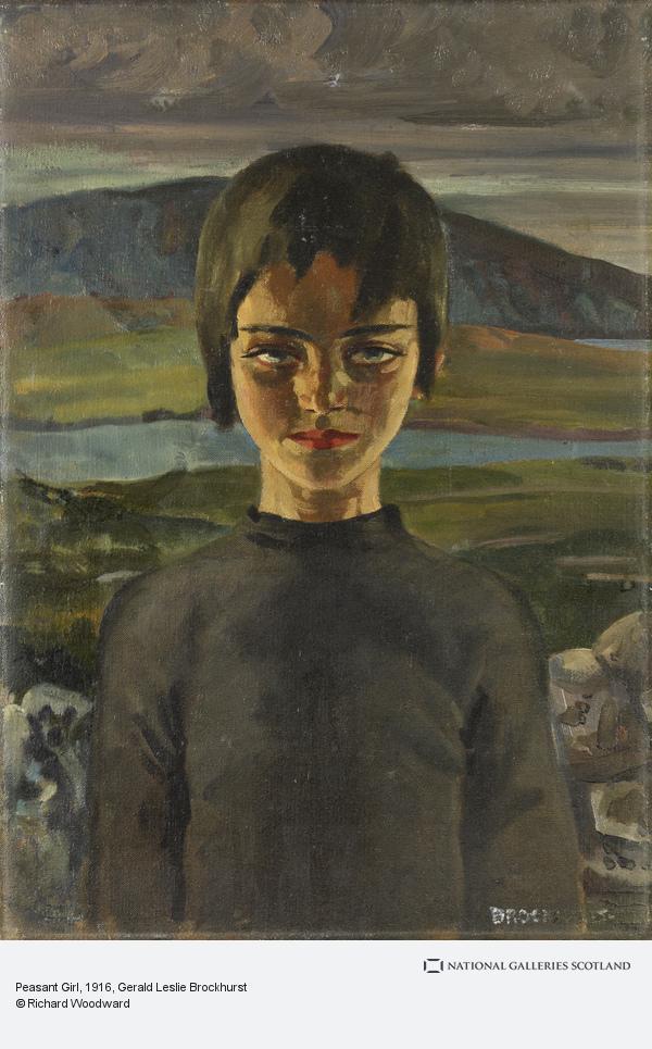 Gerald Leslie Brockhurst, Peasant Girl