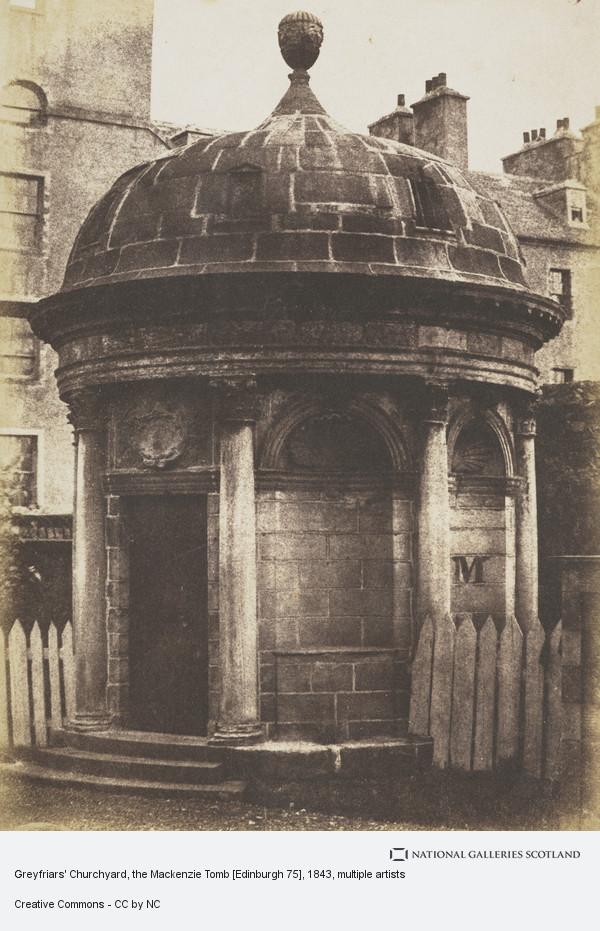Robert Adamson, Greyfriars' Churchyard, the Mackenzie Tomb [Edinburgh 75]