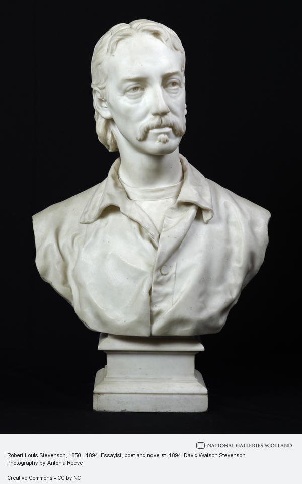 David Watson Stevenson, Robert Louis Stevenson, 1850 - 1894. Essayist, poet and novelist