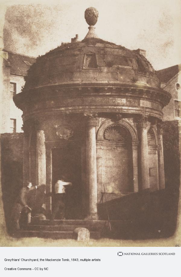 David Octavius Hill, Greyfriars' Churchyard, the Mackenzie Tomb
