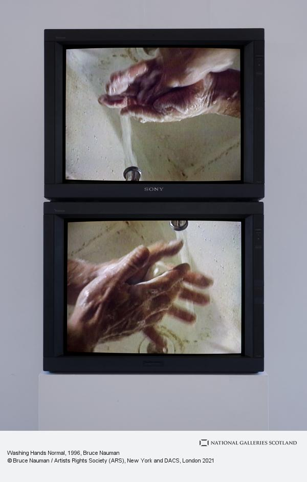 Bruce Nauman, Washing Hands Normal