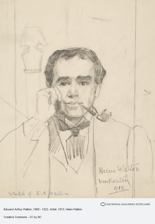 Helen Walton, Edward Arthur Walton, 1860 - 1922. Artist
