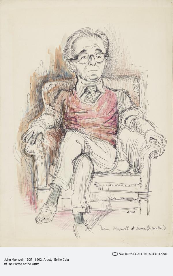 Emilio Coia, John Maxwell, 1905 - 1962. Artist