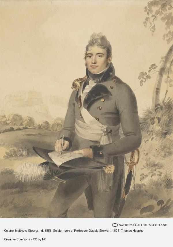 Thomas Heaphy, Colonel Matthew Stewart, d. 1851. Soldier; son of Professor Dugald Stewart