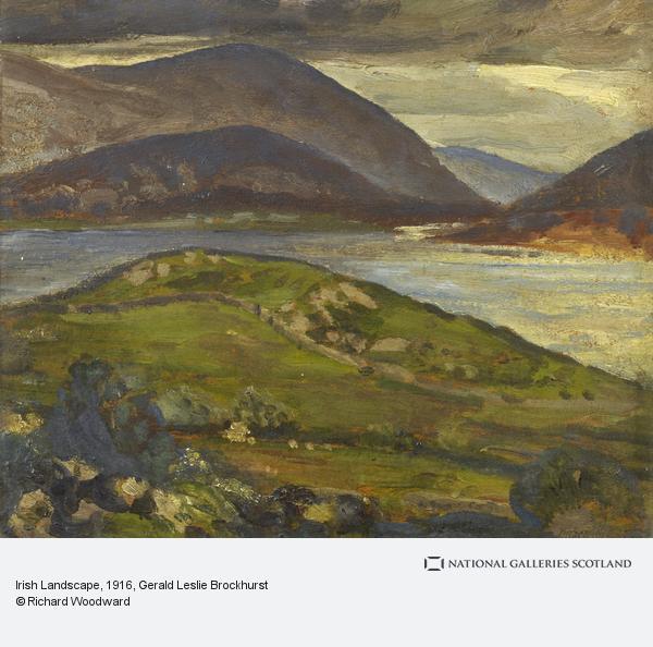 Gerald Leslie Brockhurst, Irish Landscape