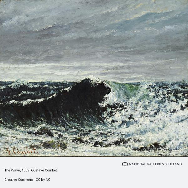 Gustave Courbet, The Wave