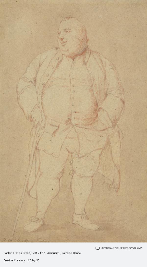 Nathaniel Dance, Captain Francis Grose, 1731 - 1791. Antiquary
