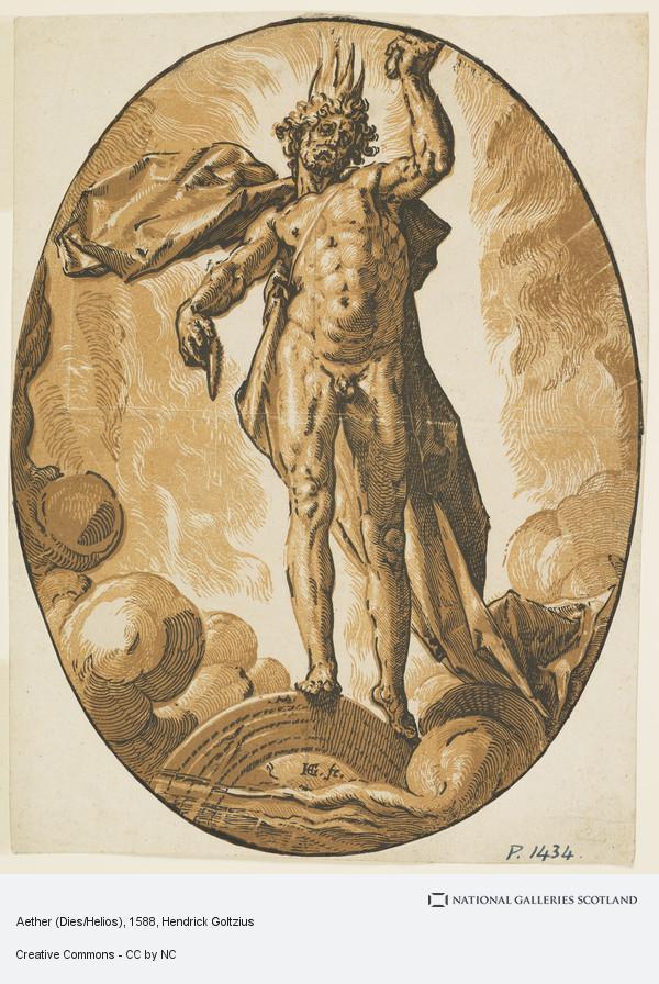 Hendrick Goltzius, Aether (Dies/Helios)
