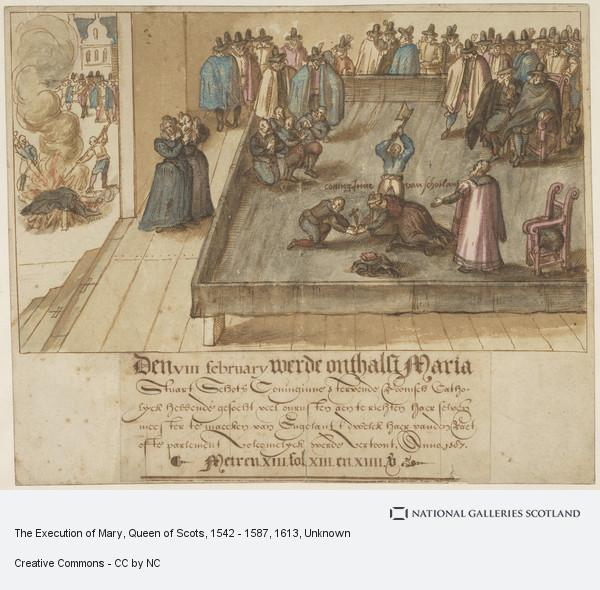 Unknown, The Execution of Mary, Queen of Scots, 1542 - 1587
