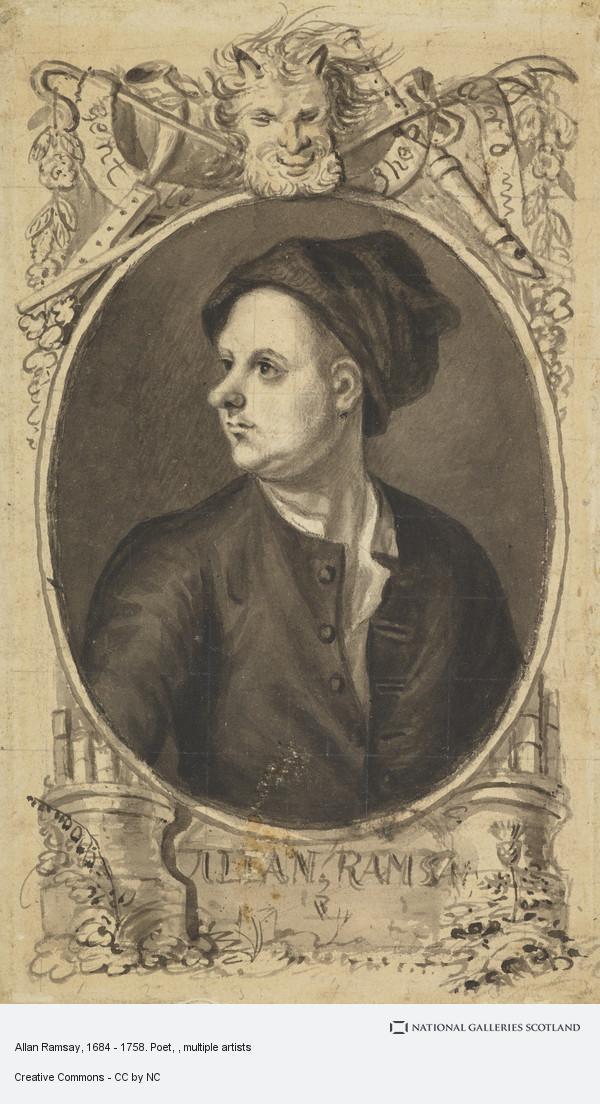 Alexander Carse, Allan Ramsay, 1684 - 1758. Poet