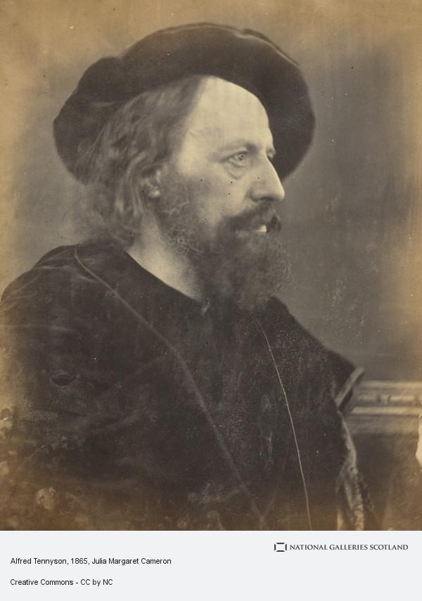 Julia Margaret Cameron, Alfred Tennyson, 1st Baron Tennyson 1809 – 1892