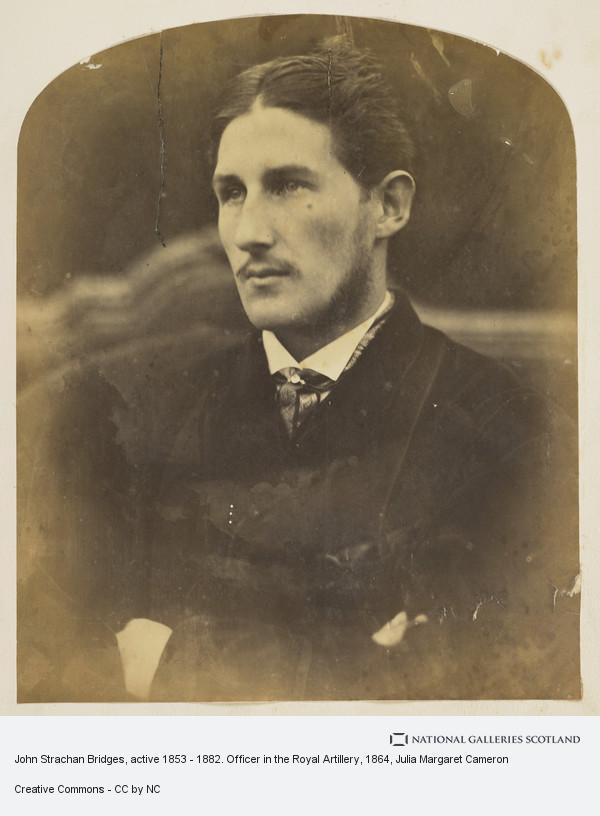 Julia Margaret Cameron, John Strachan Bridges, active 1853 - 1882. Officer in the Royal Artillery