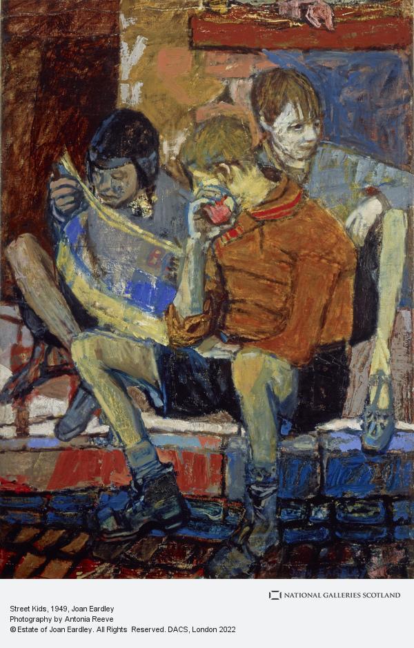 Joan Eardley, Street Kids (About 1949 - 1951)