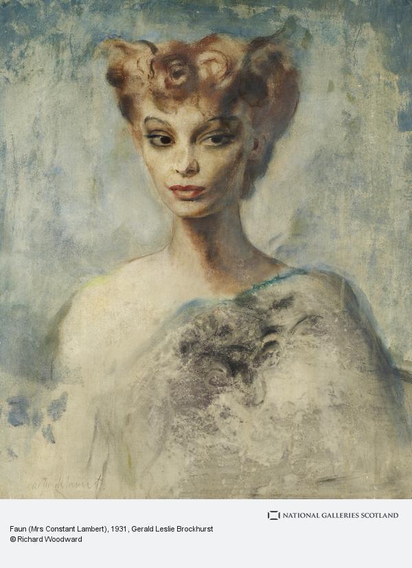 Gerald Leslie Brockhurst, Faun (Mrs Constant Lambert)