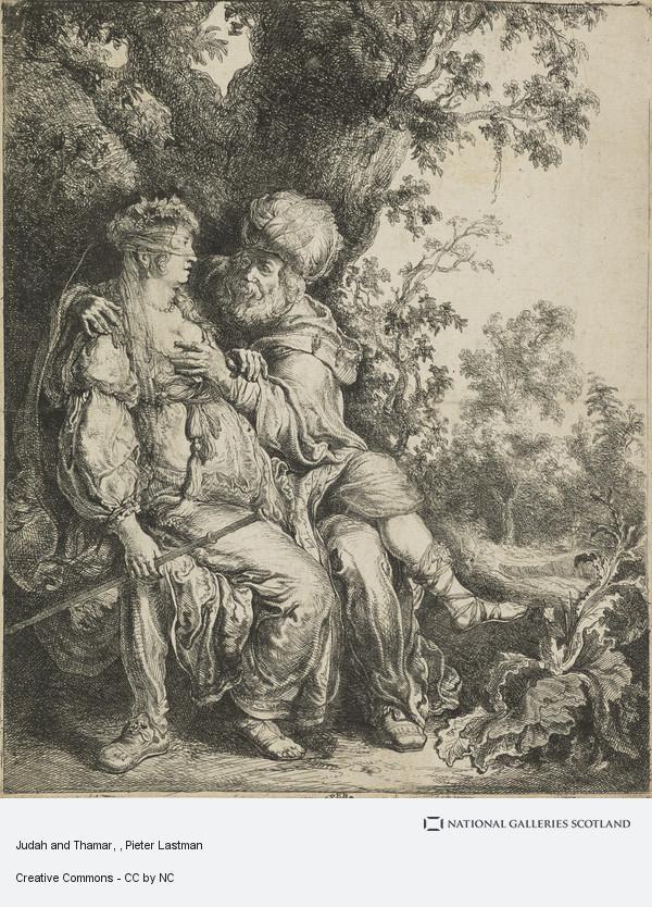 Pieter Lastman, Judah and Thamar