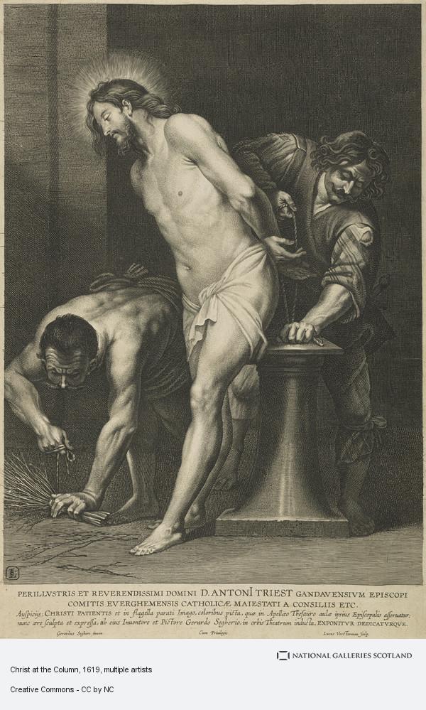 Lucas Vorsterman, Christ at the Column
