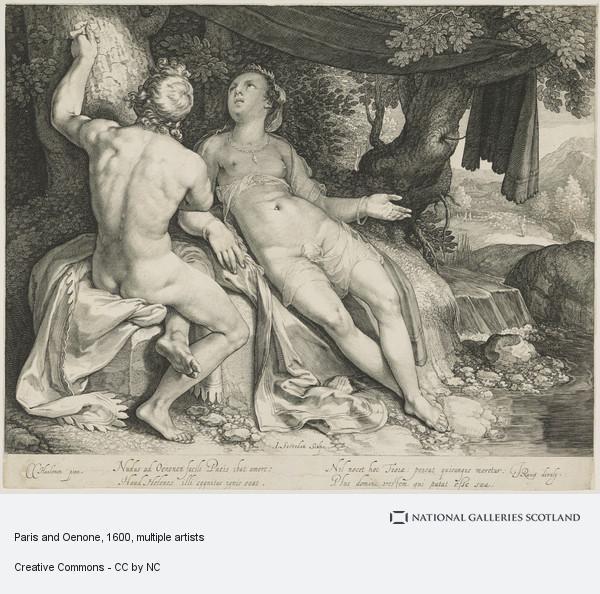 Jan Saenredam, Paris and Oenone