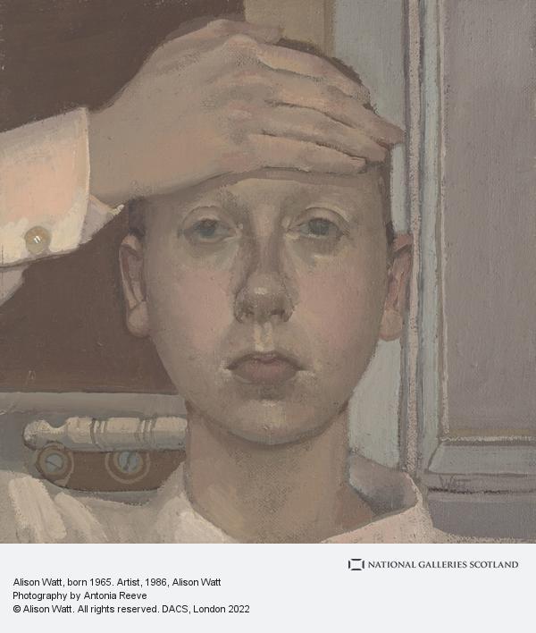 Alison Watt, Alison Watt, born 1965. Artist
