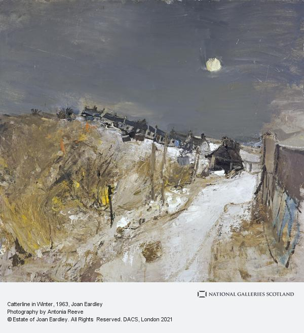 Joan Eardley, Catterline in Winter (1963)