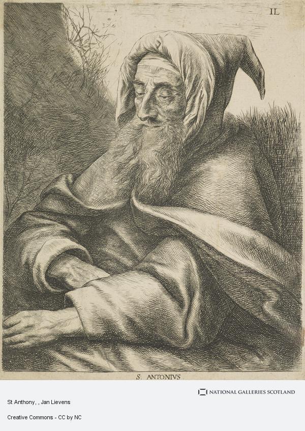 Jan Lievens, St Anthony