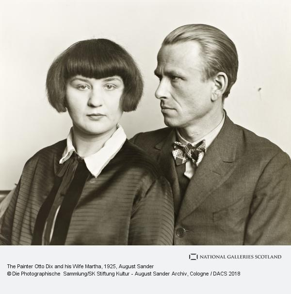 August Sander, The Painter Otto Dix and his Wife Martha, 1925/26 (1925 / 1926)