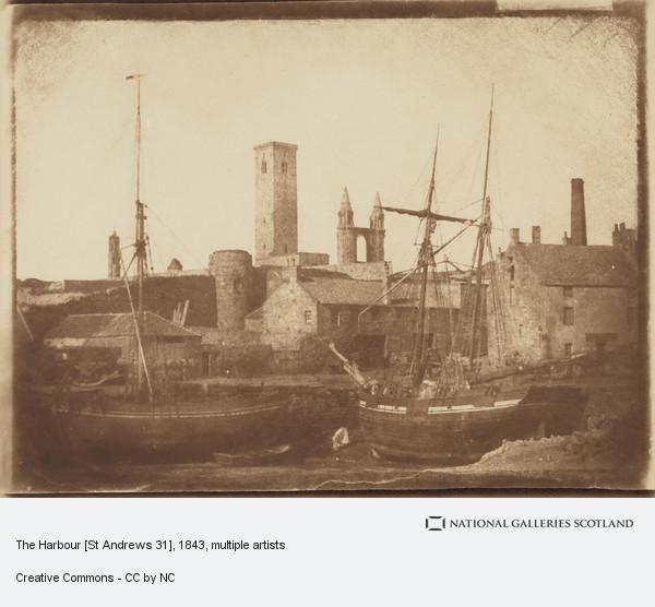 David Octavius Hill, The Harbour [St Andrews 31]
