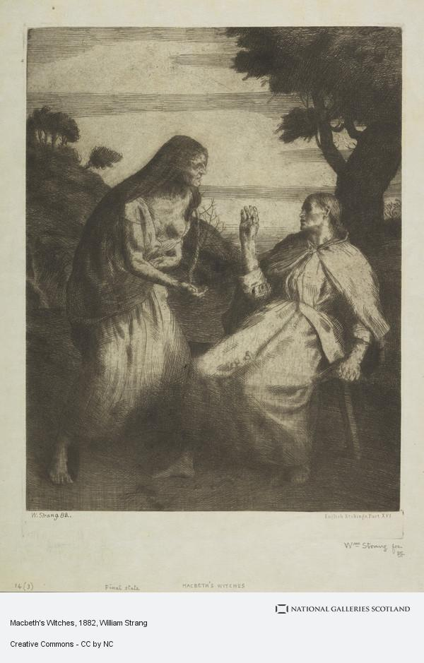 William Strang, Macbeth's Witches