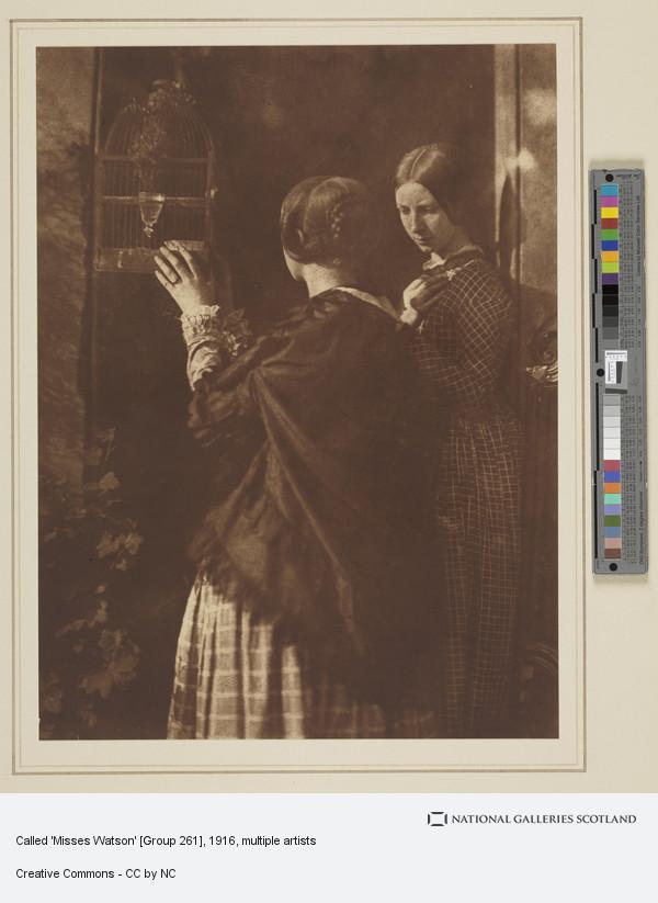 David Octavius Hill, Called 'Misses Watson' [Group 261]