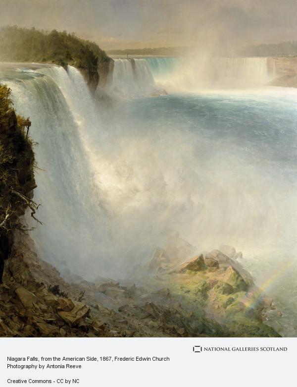 Frederic Edwin Church, Niagara Falls, from the American Side