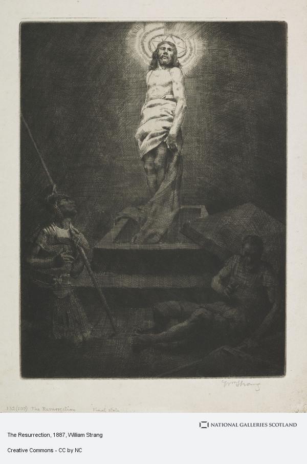 William Strang, The Resurrection