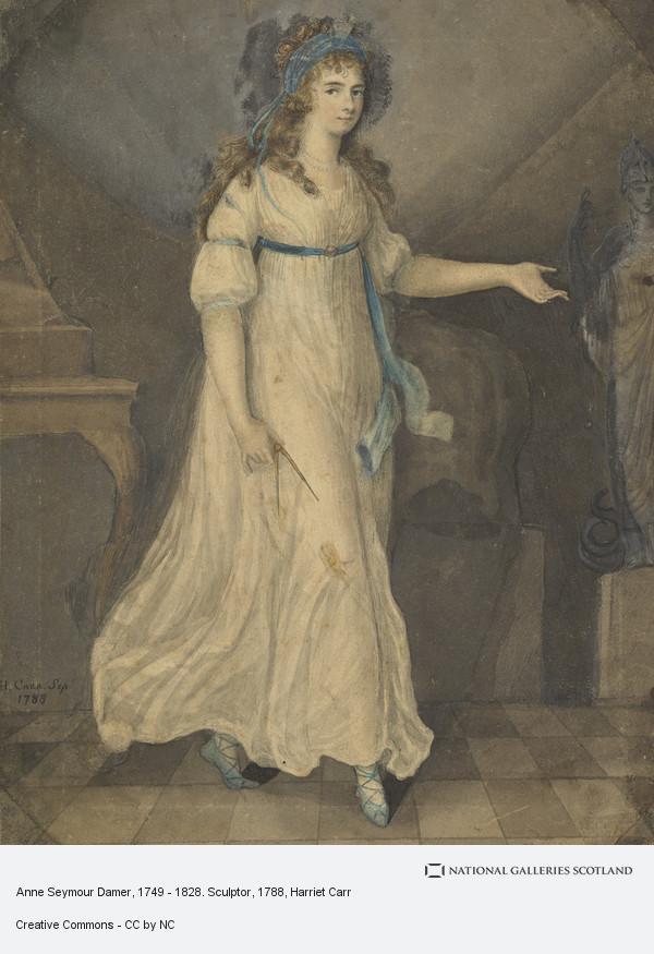 Harriet Carr, Anne Seymour Damer, 1749 - 1828. Sculptress