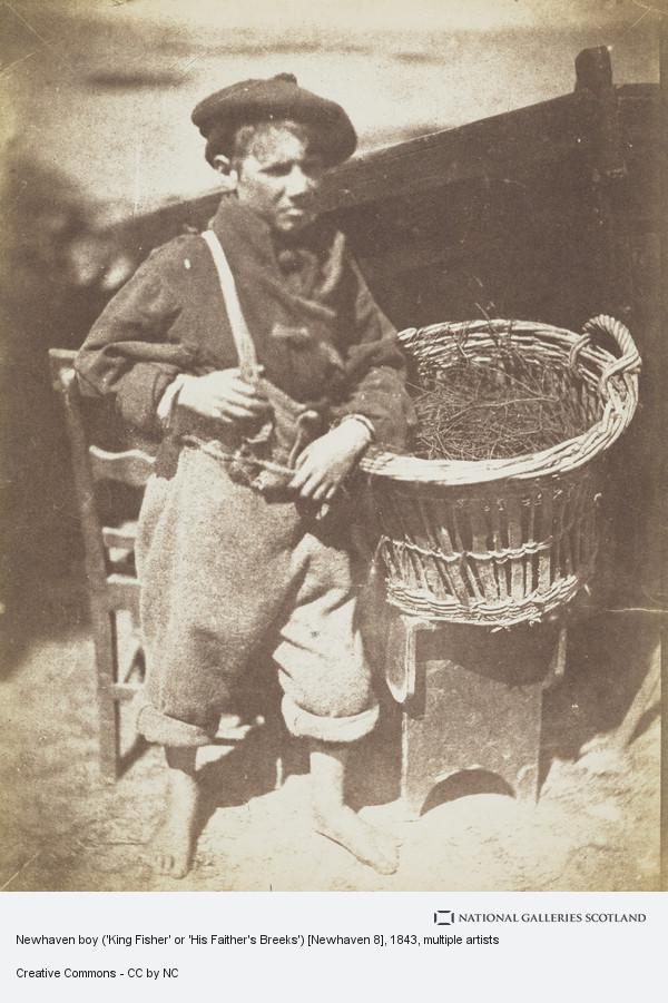 David Octavius Hill, Newhaven boy ('King Fisher' or 'His Faither's Breeks') [Newhaven 8]
