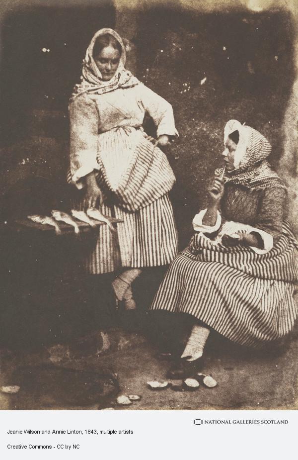 David Octavius Hill, Jeanie Wilson and Annie Linton (1843 - 1847)