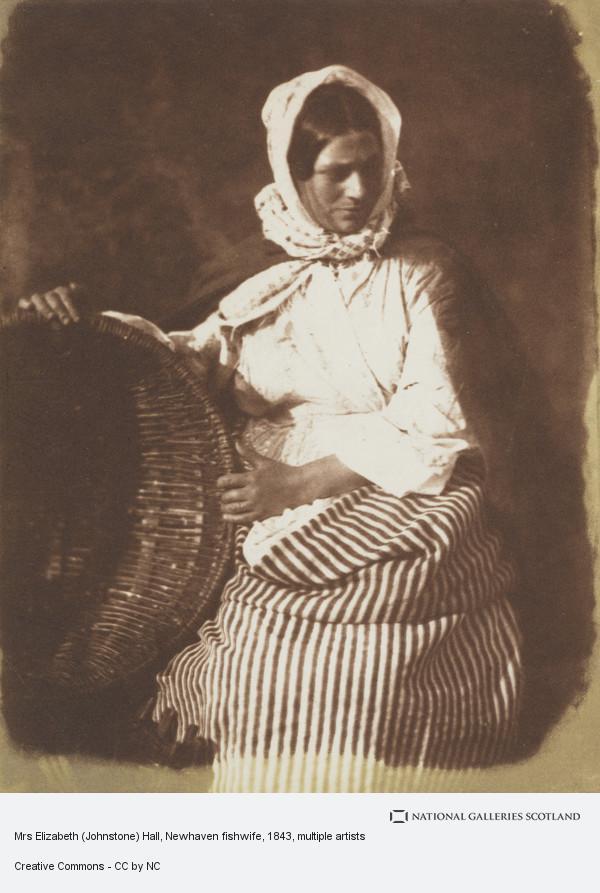 Robert Adamson, Mrs Elizabeth (Johnstone) Hall, Newhaven fishwife (1843 - 1846)