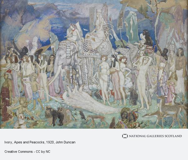 John Duncan, Ivory, Apes and Peacocks