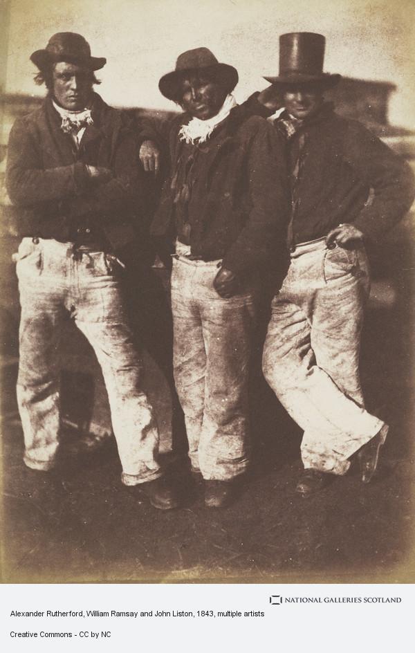 Robert Adamson, Alexander Rutherford, William Ramsay and John Liston (1843 - 1847)